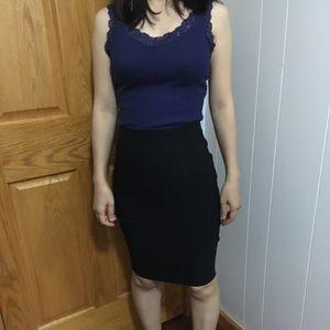 NWT Super stretchy pencil skirt